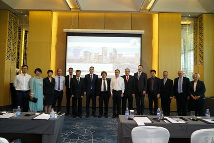 Bad Homburger Delegation und FrankfurtRheinMain GmbH in China